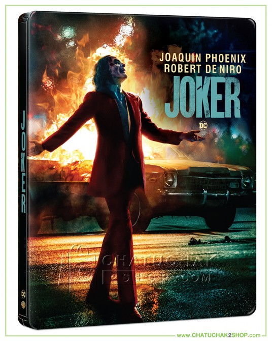 Joker 4K Ultra HD Steelbook includes Blu-ray 2D (Free Postcard)