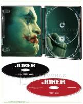 Joker 4K Ultra HD Steelbook includes Blu-ray 2D (Free Postcard)