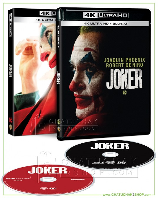 Joker 4K Ultra HD includes Blu-ray 2D (Free Postcard)