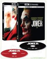 Joker 4K Ultra HD includes Blu-ray 2D (Free Postcard)