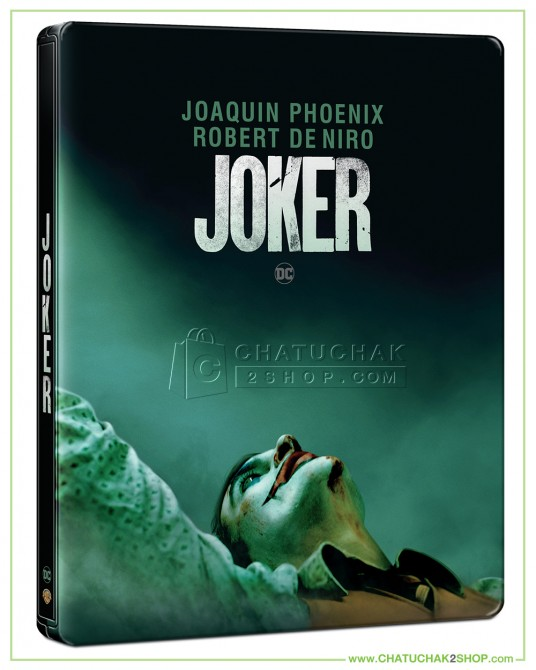 Joker Bluray Steelbook (Free Postcard)