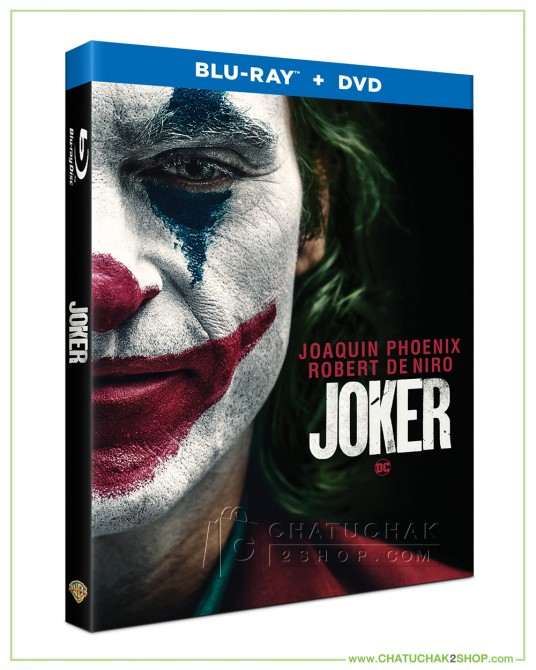 Joker Bluray Combo Set (Bluray & DVD) (Free Postcard)