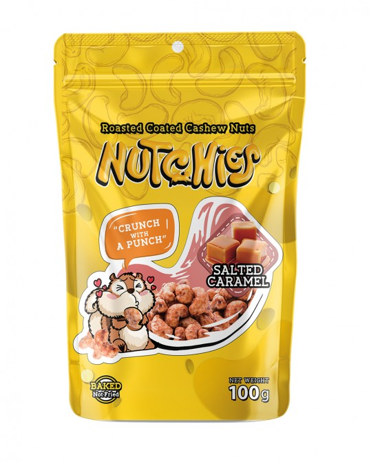 Nutchies Salted Caramel Flavour 100g
