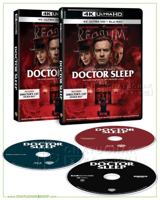 Doctor Sleep Ultra HD includes Blu-ray 2D (Theatrical & Director's Cut)