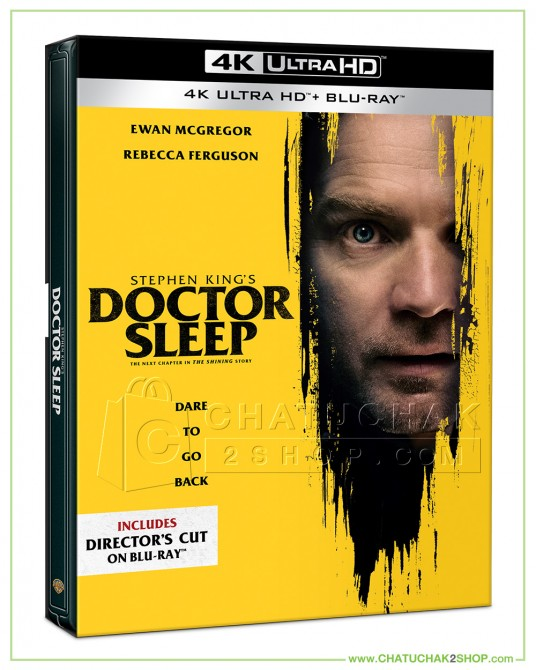 Doctor Sleep Ultra HD Steelbook includes Blu-ray 2D (Theatrical & Director's Cut)