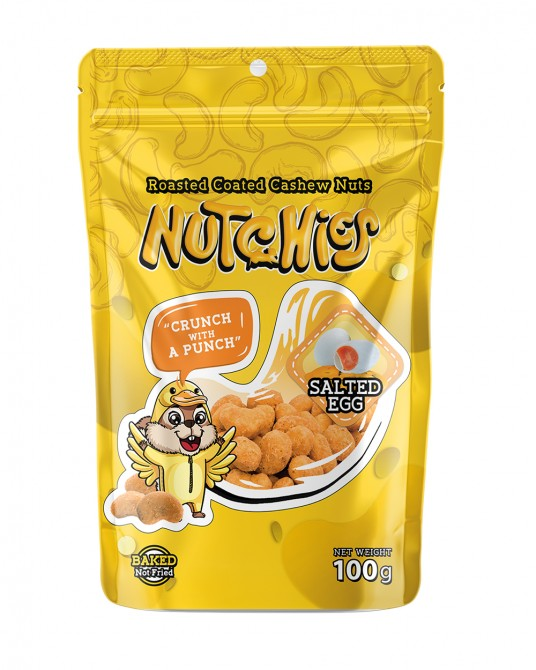 Nutchies Salted Egg Flavour 100g.