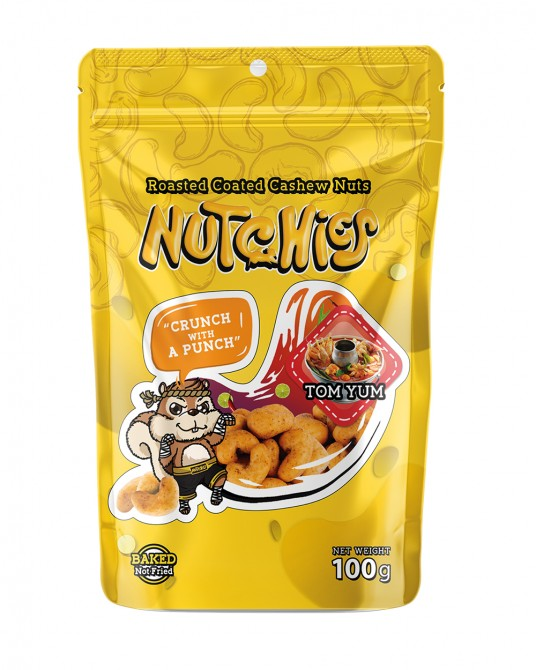 Nutchies Tom Yum Flavour 100g