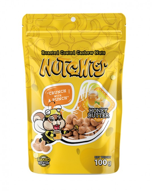 Nutchies Honey Butter Flavour 100g.