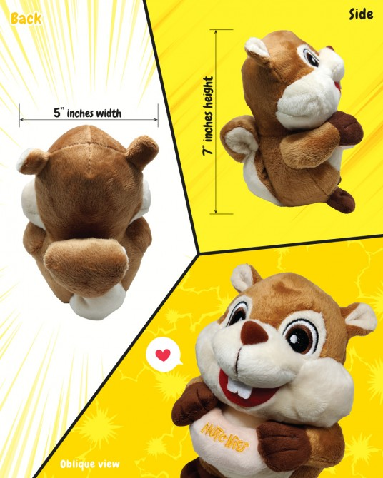 Champy Squirrel plushie