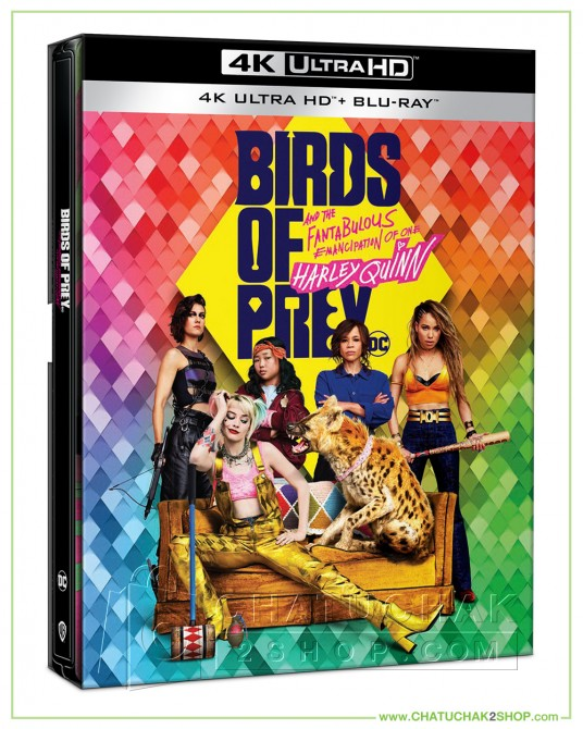 Birds of Prey 4K Ultra HD+Blu-ray Steelbook + Lenticular (Free Postcard)