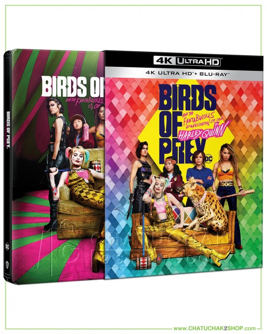 Birds of Prey 4K Ultra HD Steelbook includes Blu-ray 2D (Free Postcard)