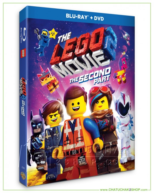 The Lego Movie 2: The Second Part  Blu-ray Combo Set (Bluray + DVD)