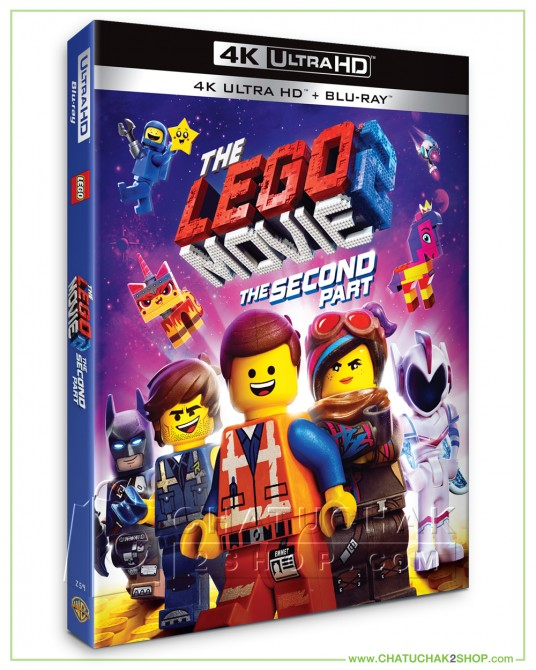 The Lego Movie 2: The Second Part Blu-ray 4K Ultra HD includes Blu-ray 2D