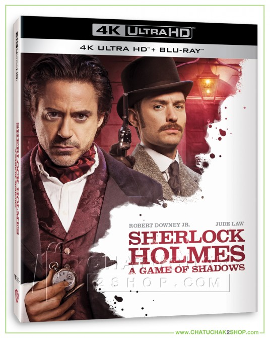 Pre-order Sherlock Holmes: A Game of Shadows 4K Ultra HD includes Blu-ray 2D