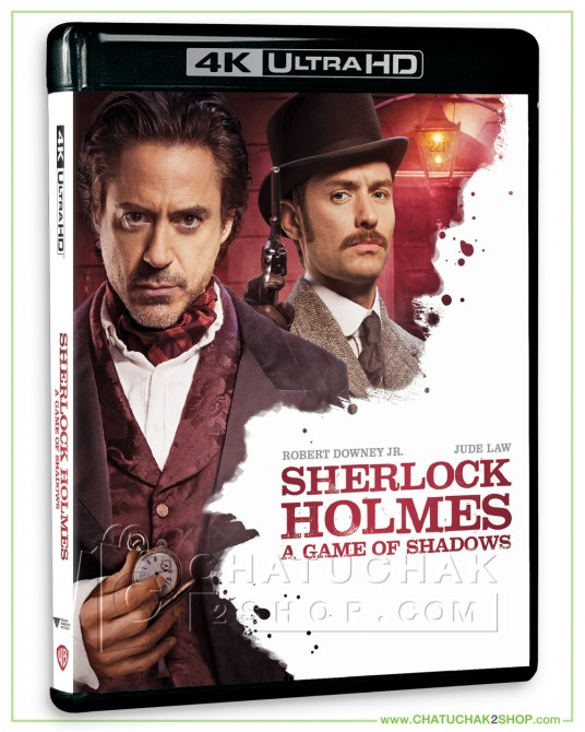 Sherlock Holmes: A Game of Shadows 4K Ultra HD includes Blu-ray 2D