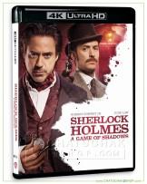 Sherlock Holmes: A Game of Shadows 4K Ultra HD includes Blu-ray 2D
