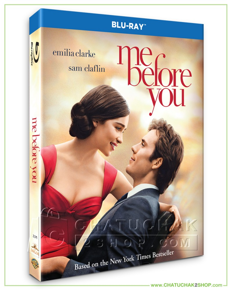 Me Before You Blu-ray