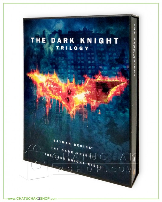 The Dark Knight Trilogy DVD Boxset+Photo Book
