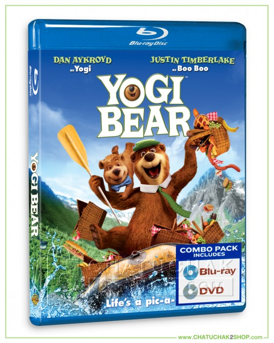 Yogi Bear Blu-ray Combo Set (Bluray & DVD)