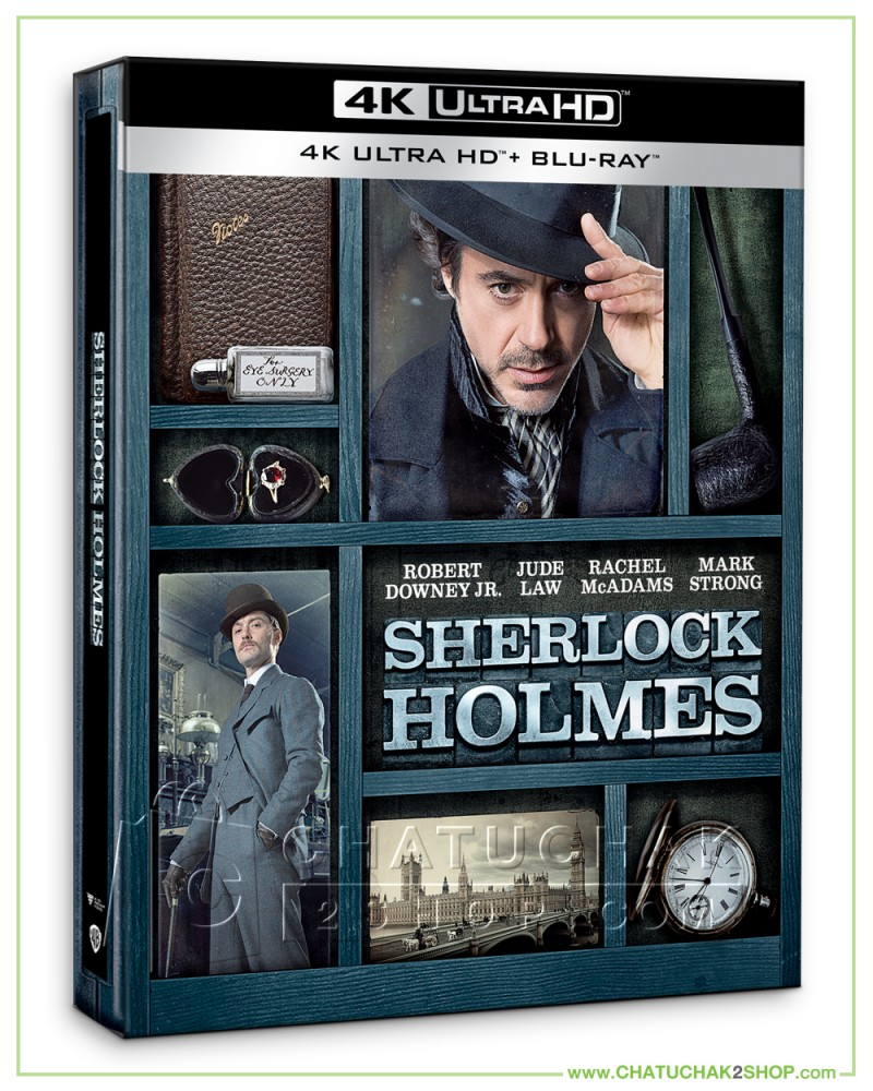 Sherlock Holmes 4K Ultra HD Steelbook includes Blu-ray 2D