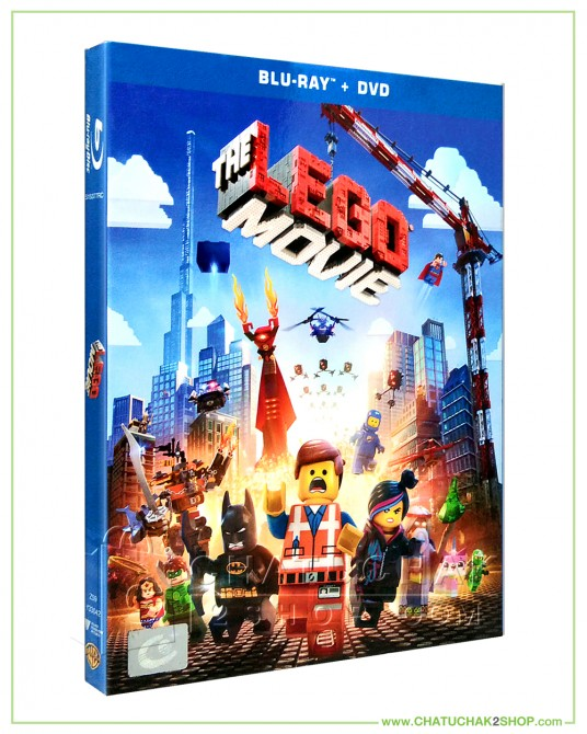 The Lego Movie (2014) Blu-ray Combo Set (Bluray & DVD)
