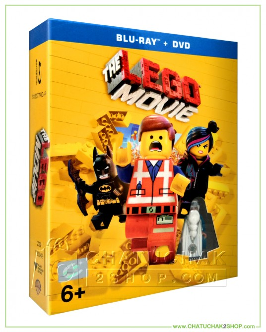 The Lego Movie (2014) Blu-ray Combo Set (Bluray & DVD)+ LEGO Minifigure