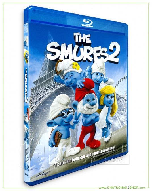 The Smurfs 2 Blu-ray