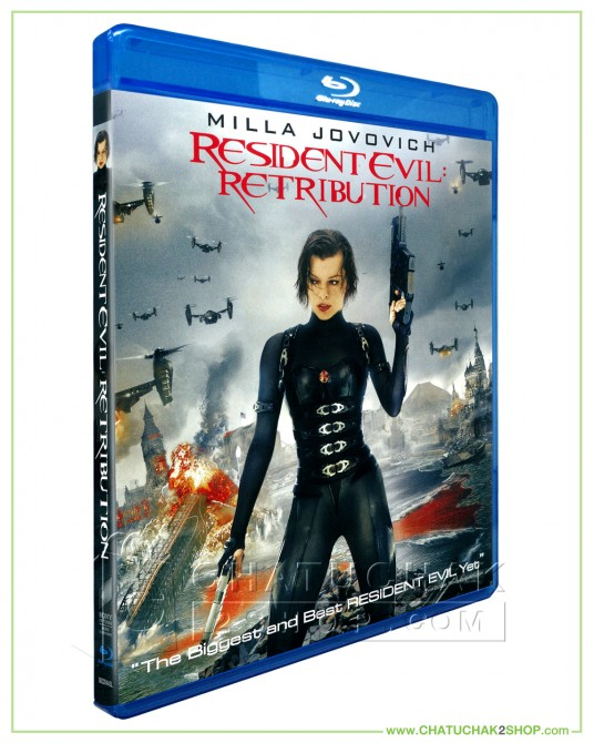 Resident Evil: Retribution Blu-ray