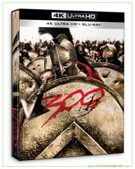 300 4K Ultra HD Steelbook includes Blu-ray 2D