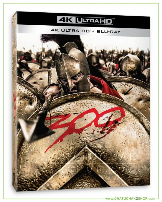 300 4K Ultra HD includes Blu-ray 2D + Lenticular
