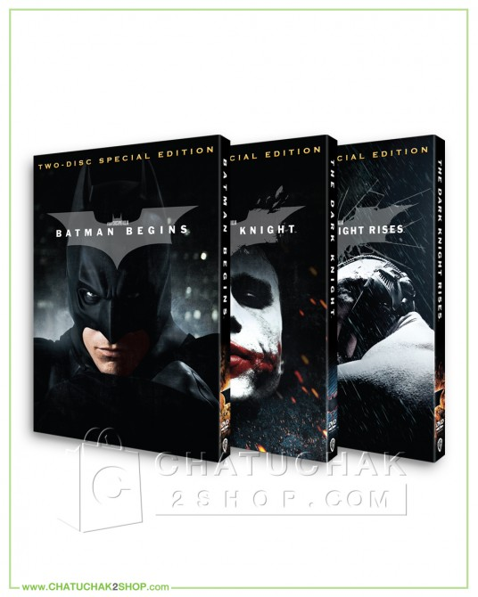 The Dark Knight Trilogy DVD