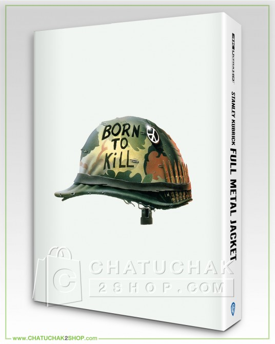 Full Metal Jacket (Photobook) 4K Ultra HD includes Blu-ray 2D