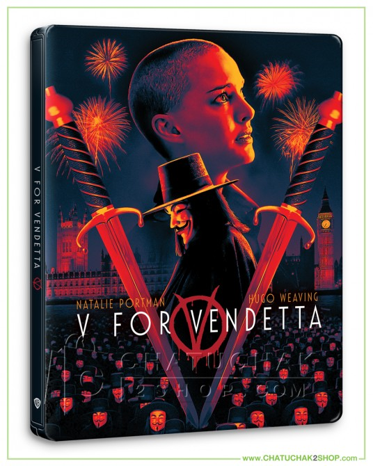 V for Vendetta 4K Ultra HD Steelbook includes Blu-ray 2D