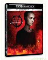 V for Vendetta 4K Ultra HD includes Blu-ray 2D