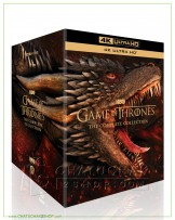 Game of Thrones: The Complete Series (1-8) 4K Boxset