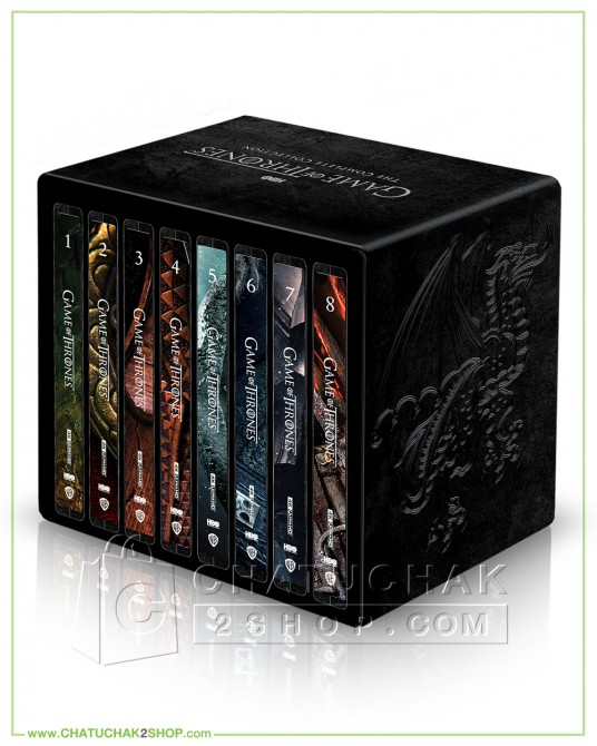 Pre-order Game of Thrones: The Complete Series (1-8) 4K Steelbook Boxset + Photobook