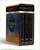 The Lord of the Rings, The Motion Picture Trilogy (EXT) 4K Steelbook Boxset + Lenticular