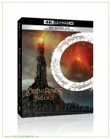 Lord of the Rings, The Motion Picture Trilogy (EXT) 4K Boxset + Lenticular