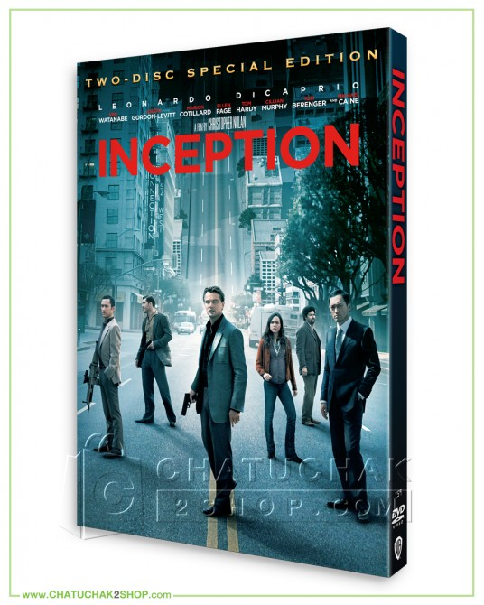 Inception DVD (SE + Bonus Disc)
