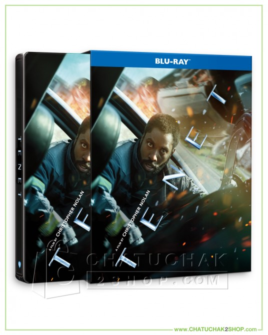 Pre-order Tenet Bluray Steelbook + Bluray Special Features