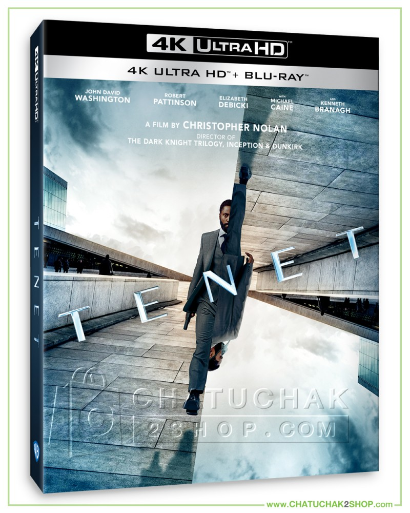 Pre-order Tenet 4K Ultra HD + Bluray + Bluray Special Features