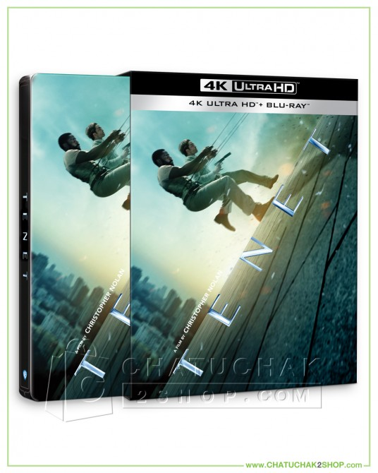 Pre-order Tenet 4K Ultra HD Steelbook+ Bluray + Bluray Special Features+Lenticular