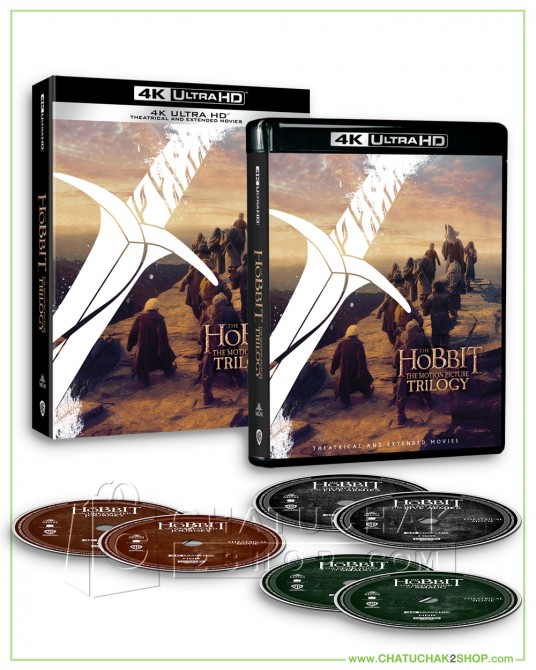 The Hobbit, The Motion Picture Trilogy (EXT) 4K Boxset