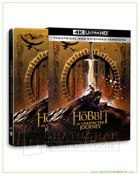 The Hobbit: An Unexpected Journey (EXT) 4K Ultra HD Steelbook+ Lenticular