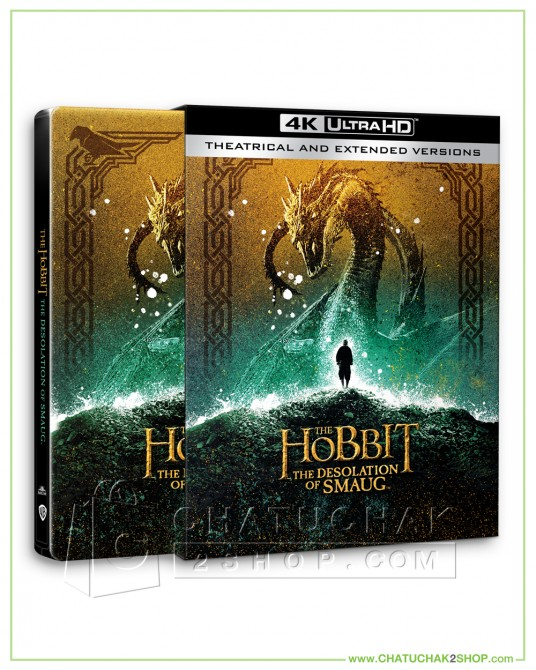 The Hobbit: The Desolation of Smaug (EXT) 4K Ultra HD Steelbook + Lenticular