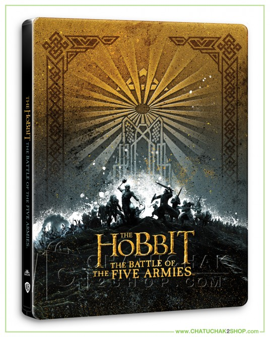 The Hobbit: The Battle of the Five Armies (EXT) 4K Ultra HD Steelbook + Lenticular