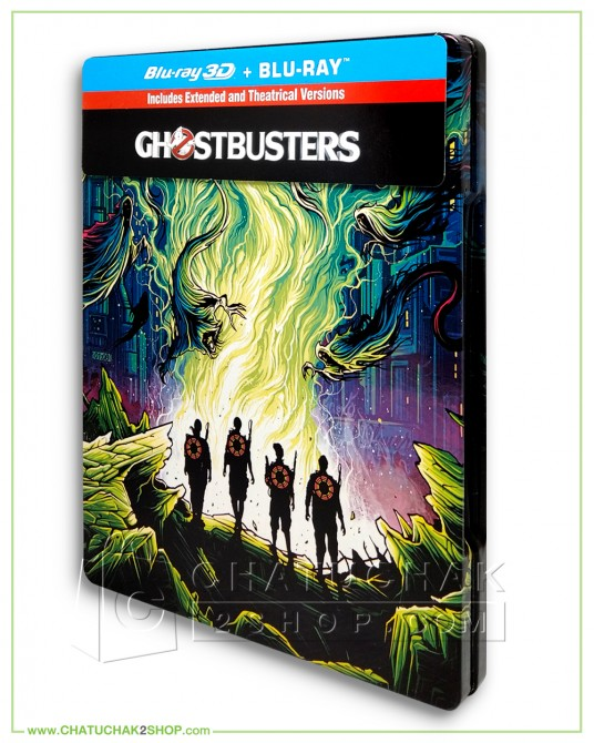 Ghostbusters (Blu-ray Steelbook Includes 3D and 2D)