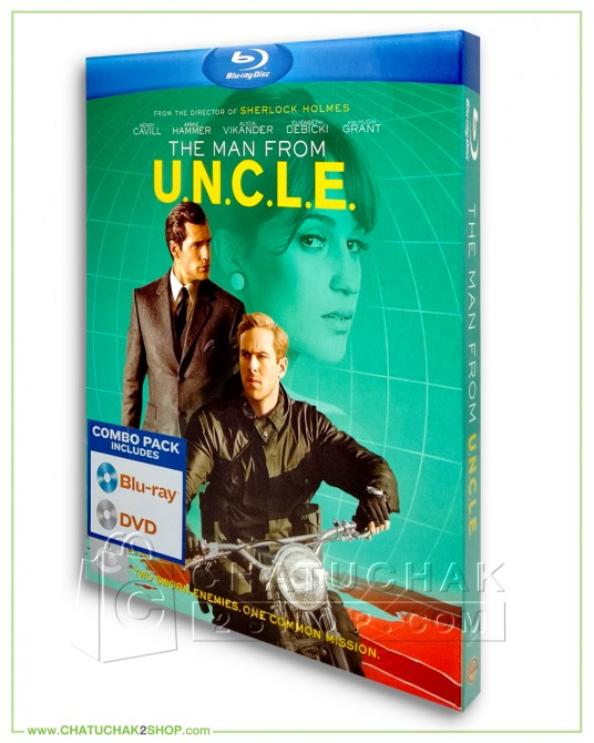 The Man From U.N.C.L.E. Blu-ray Combo Set (Bluray & DVD)