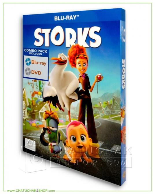 Stork Blu-ray Combo Set (Bluray & DVD)
