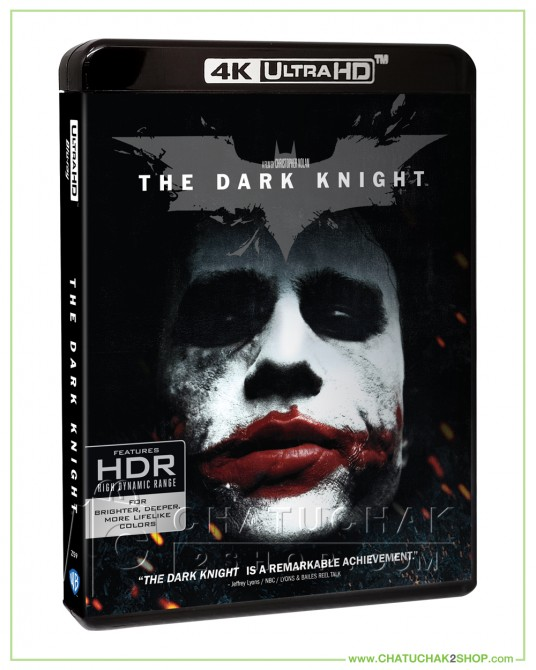 The Dark Knight 4K Ultra HD + Blu-ray 2D + Blu-ray Bonus Disc (4K- No Thai Sub&Thai Audio)